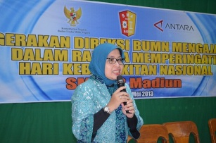 Ibu Endah Sri Wahyuni - Direksi Keuangan LKBN ANTARA